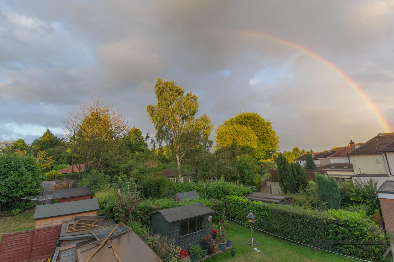 Rainbow over watford
