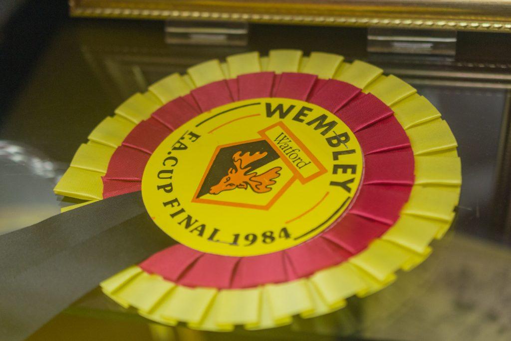 FA Cup final rosette