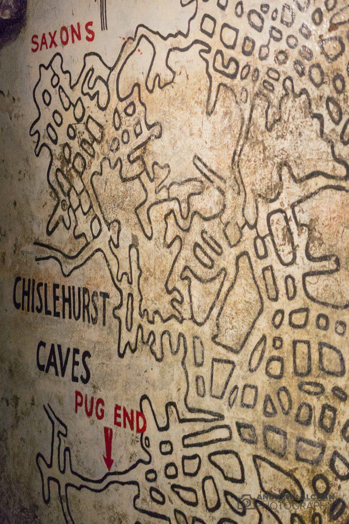 Chislehurst Caves Map