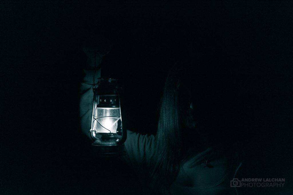 Chislehurst Caves - lamp