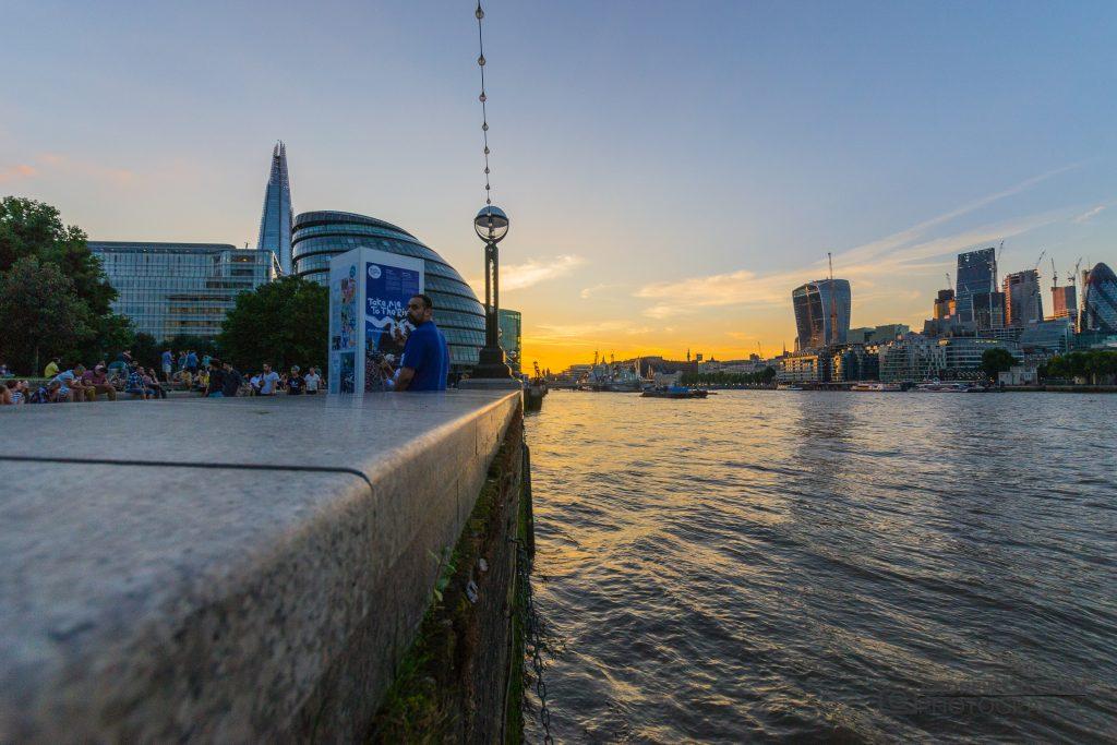 Sunset on Tower bridge, London