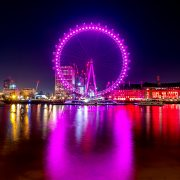 London Eye with love