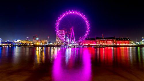 London Eye with love