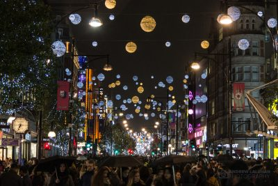 Oxford Street Lights 2017