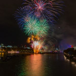 Lord Mayor Show Fireworks