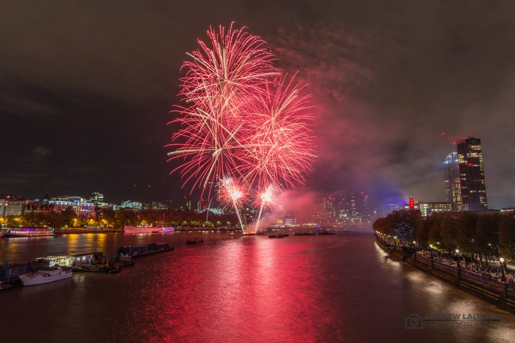 Lord Mayors Show Fireworks