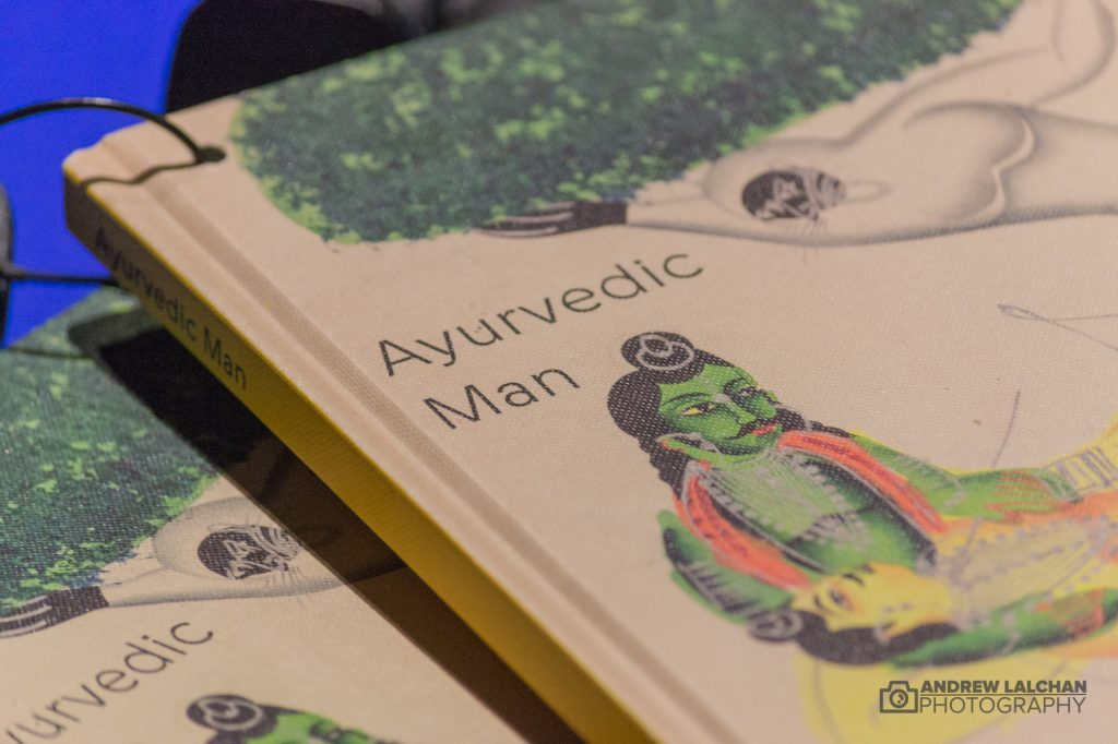 Ayurvedic Man Exhibition