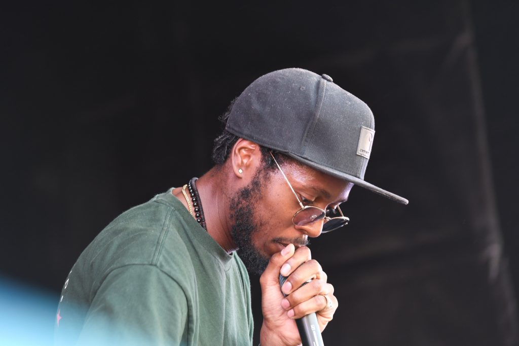 rapper Illa J at the Maiden Voyage festival