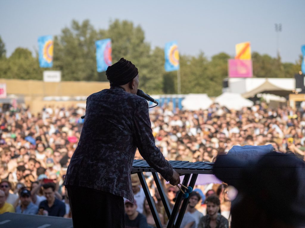 Roy Ayers & band plays at Maiden Voyage Festival 2019