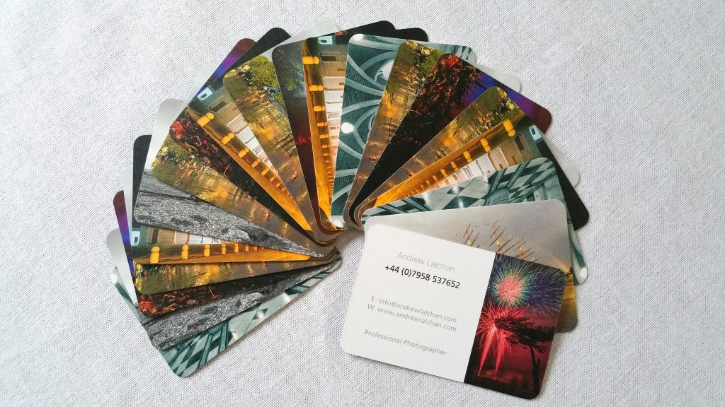 Andrew Lalchan Business Cards