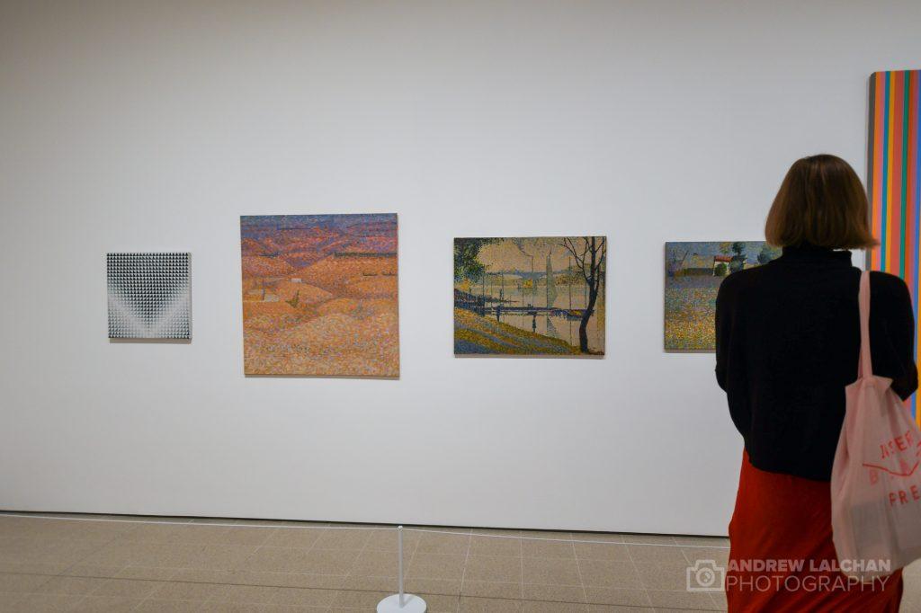 Bridget Riley Exhibition at Hayward Gallery
