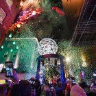 Carnaby Christmas Lights turn on