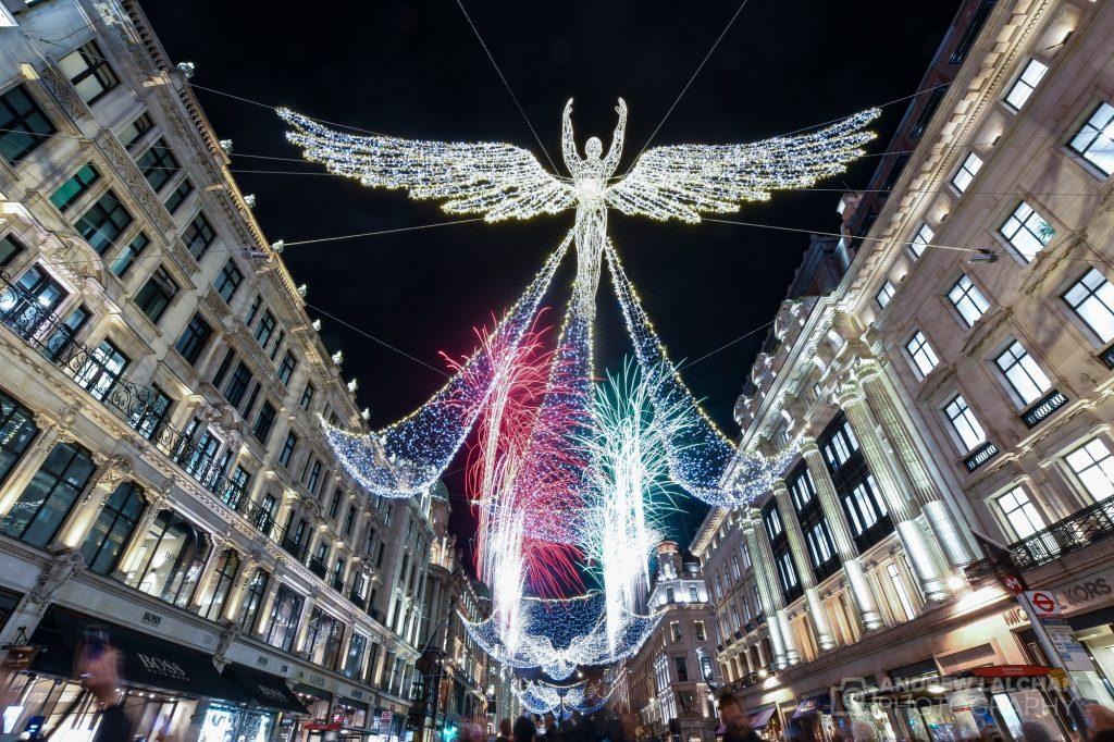 Christmas Lights in Regent Street 2019