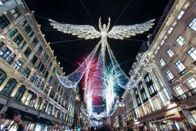 Christmas Lights in Regent Street 2019