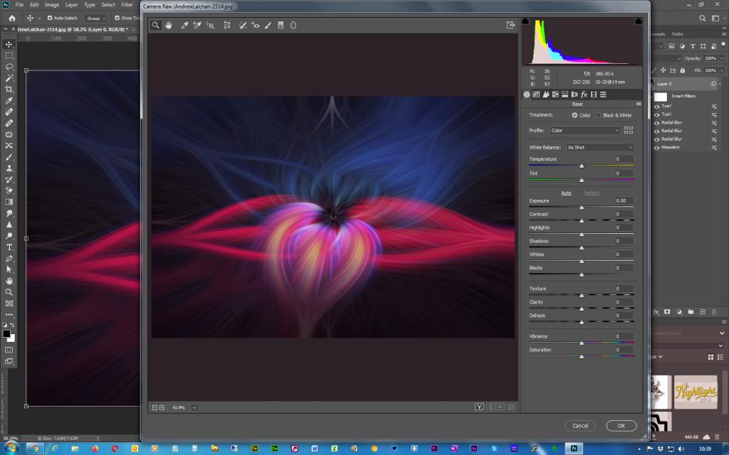 Adobe Photoshop - Twirl effect - Step 10